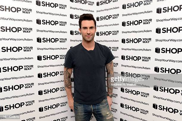 A view of atmosphere as Adam Levine kicks off his collection for ShopYourWaycom and KMart on February 21 2013 in New York City