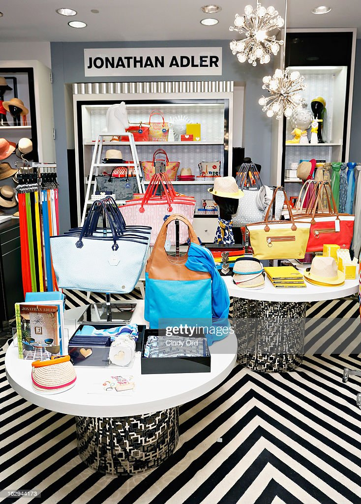 A View Of Atmosphere As Bloomingdaleu0027s 59th Street Welcomes Jonathan Adler  For The Launch Of The