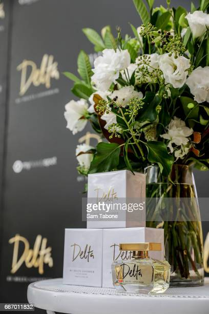 A view of atmosphere as Delta Goodrem greets fans at Chadstone Shopping Centre on April 11 2017 in Melbourne Australia