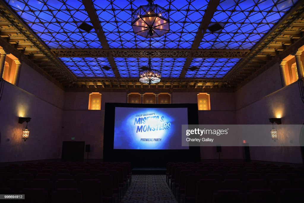 View of atmosphere at Bobcat Goldthwait's Misfits & Monsters Premiere Event at The Hollywood Roosevelt Hotel on July 11, 2018 in Hollywood, California. 392403.