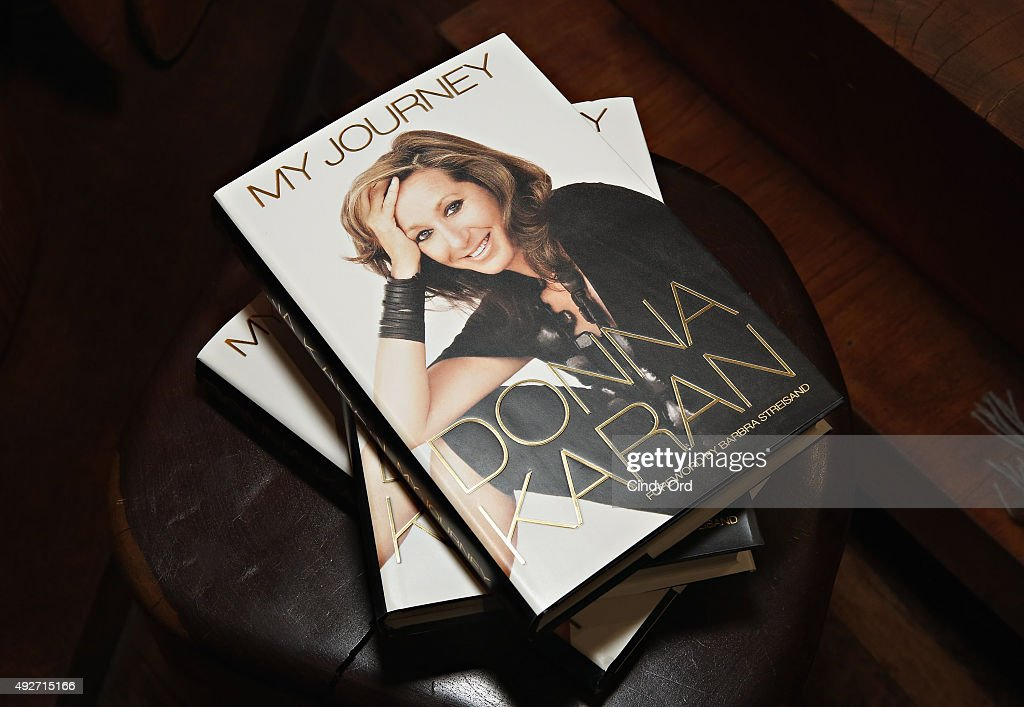 """Donna Karan's """"My Journey"""" Book Release Party : News Photo"""
