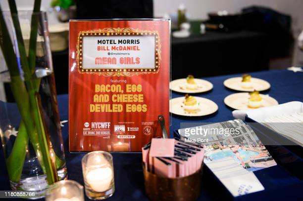 A view of atmosphere at Four Roses Bourbon's Broadway Tastes presented by iHeartRadio Broadway hosted by Alex Brightman with special guest Randy...