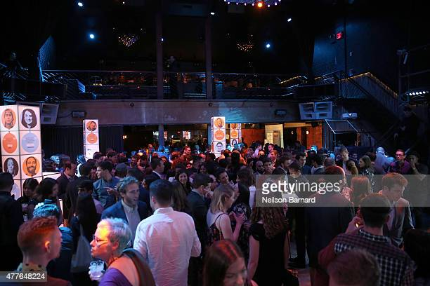 View of atmosphere at GREY GOOSE Vodka Hosts The Inaugural Mic50 Awards at Marquee on June 18 2015 in New York City