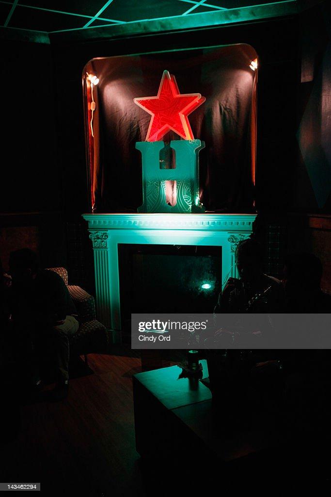 Heineken Presents Side by Side Fan Q&A : News Photo