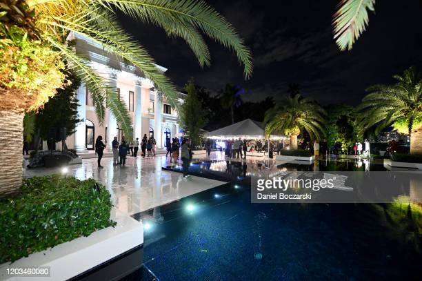 A view of atmosphere at Lil Wayne's Funeral album release party on February 01 2020 in Miami Florida[