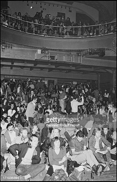 View of atmosphere at Party At Palace Night Club In 1980