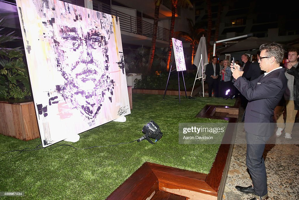 "Sara Von Kienegger And Art Of Elysium Host Los Angeles Gallery MAMA's Presentation Of Ryan Heffington's ""Wading Games"" With Osk And Music BANKS : News Photo"