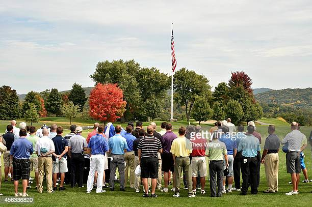 View of atmosphere at Screen Actors Guild Foundation 2nd Annual New York Golf Classic at Trump National Golf Club Westchester on September 29 2014 in...