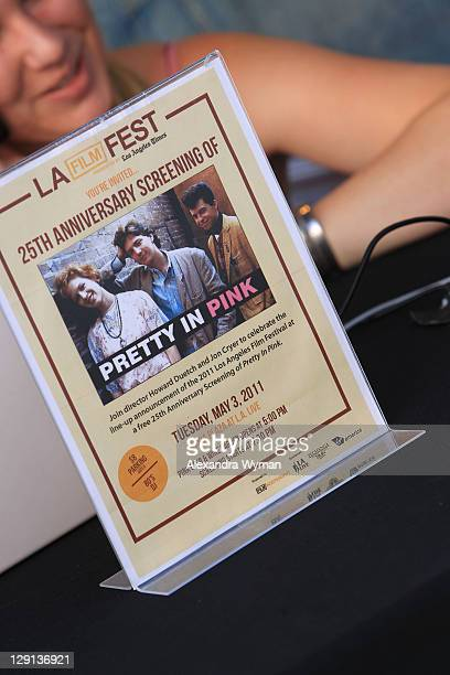 """View of atmosphere at The 2011 Los Angeles Film Festival Advance Screening of """"Pretty in Pink"""" held at Nokia Plaza L.A. LIVE on May 3, 2011 in Los..."""
