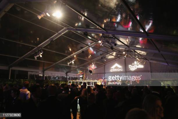 A view of atmosphere at the 27th annual Elton John AIDS Foundation Academy Awards Viewing Party sponsored by IMDb and Neuro Drinks celebrating EJAF...