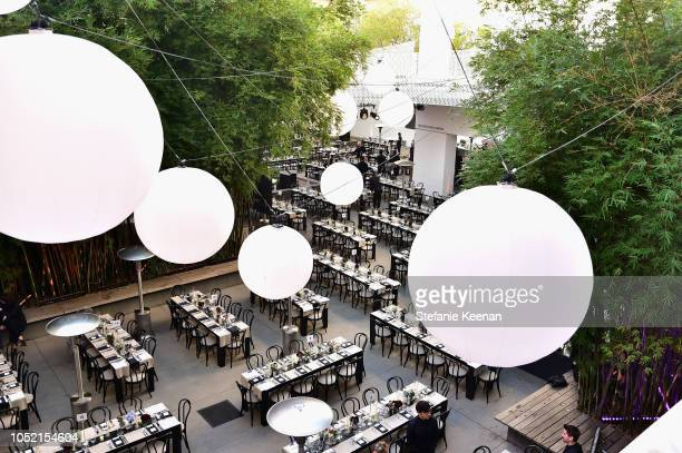 View of atmosphere at the Hammer Museum 16th Annual Gala in the Garden with generous support from South Coast Plaza at the Hammer Museum on October...