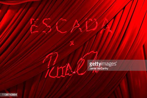 A view of atmosphere at the launch of the ESCADA Heartbag by Rita Ora on March 27 2019 in New York City