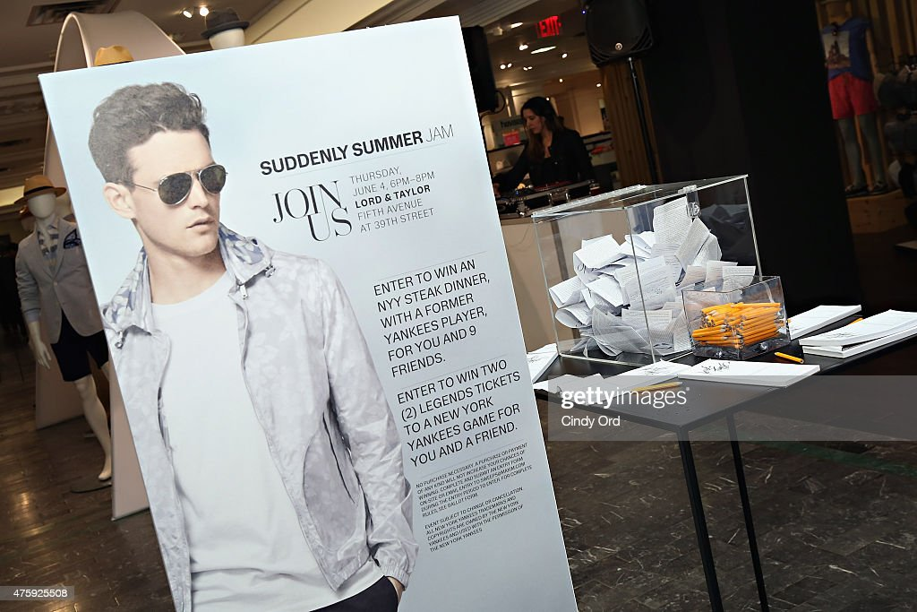 3c42705ba42 Lord   Taylor Suddenly Summer Jam With Maxim Magazine And Dellin Betances    News Photo