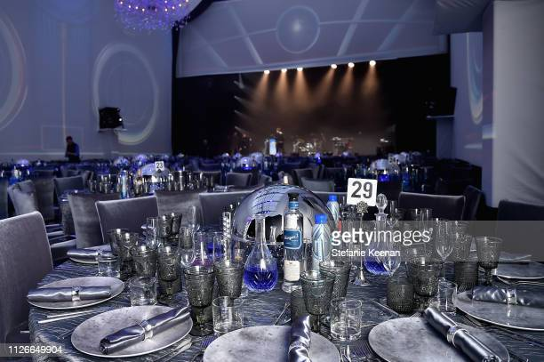 A view of atmosphere at the UCLA IoES honors Barbra Streisand and Gisele Bundchen at the 2019 Hollywood for Science Gala on February 21 2019 in...
