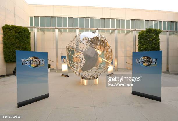 View of atmosphere at the UCLA IoES honors Barbra Streisand and Gisele Bundchen at the 2019 Hollywood for Science Gala on February 21 2019 in Beverly...