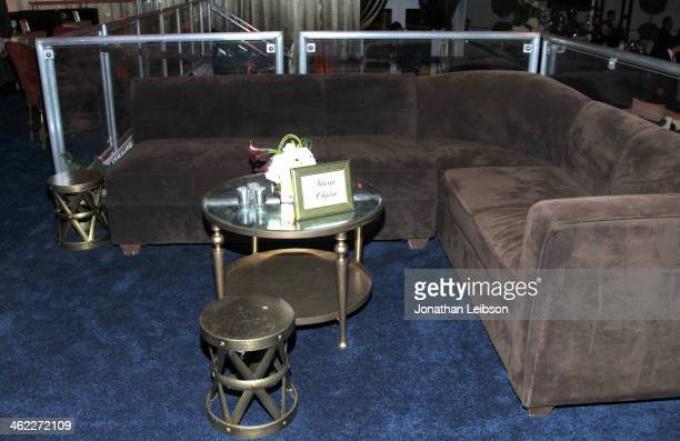 A view of atmosphere at The Weinstein Company Netflix's 2014 Golden Globes After Party presented by Bombardier FIJI Water Lexus Laura Mercier Marie...