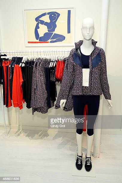 View of atmosphere at Tory Sport VIP/Press Opening Event on September 16 2015 in New York City