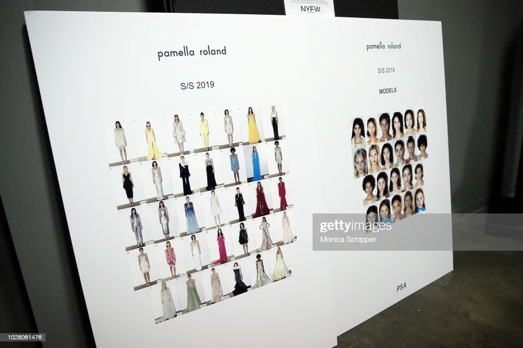 Pamella Roland - Backstage - September 2018 - New York Fashion Week : ニュース写真