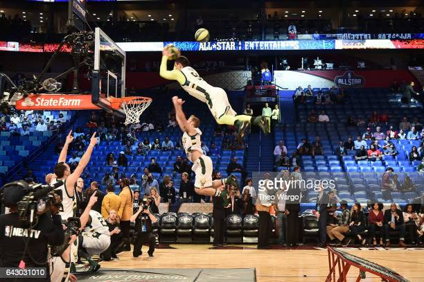 A view of atmosphere before the game at the 66th NBA AllStar Game at Smoothie King Center on February 19 2017 in New Orleans Louisiana