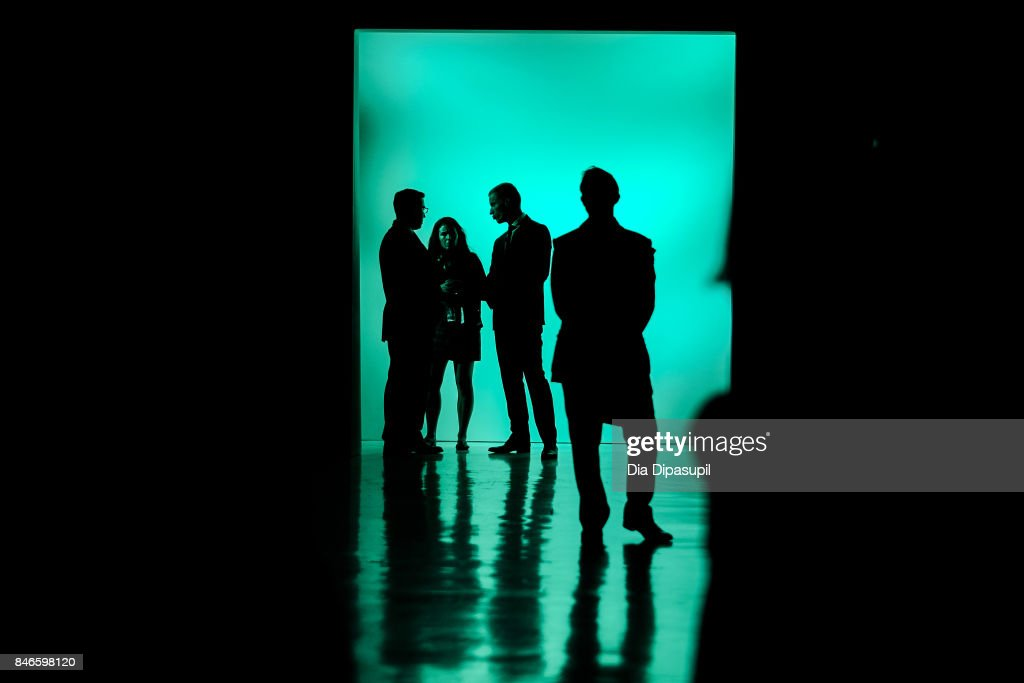 A view of atmosphere before the Zang Toi fashion show during New York Fashion Week: The Shows at Gallery 3, Skylight Clarkson Sq on September 13, 2017 in New York City.