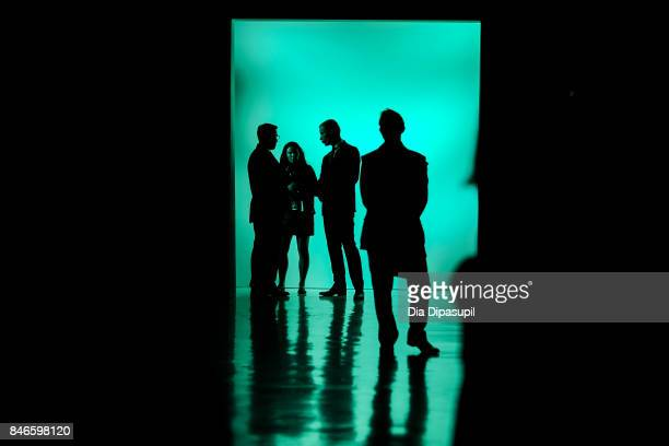 View of atmosphere before the Zang Toi fashion show during New York Fashion Week: The Shows at Gallery 3, Skylight Clarkson Sq on September 13, 2017...