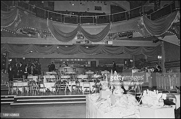 View of atmosphere during a 'Femme Fatale' theme party at the 'Palace' night club in Paris in 1980