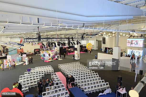 A view of atmosphere during the 2nd Annual BeautyCon New York City Festival at Pier 36 on October 17 2015 in New York City