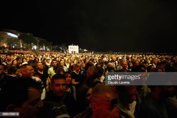 View of atmosphere during the 70th annual Cannes Film Festival at on May 21 2017 in Cannes France