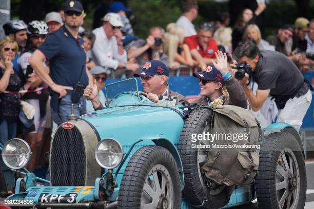 A view of atmosphere during the last day of the 1000 Miles Historic Road Race during Mille Miglia 2018 on May 19 2018 in Brescia Italy