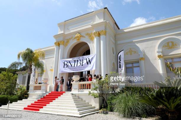 A view of atmosphere is seen at BNTB Cannes Fashion Week on May 14 2019 in Cannes France