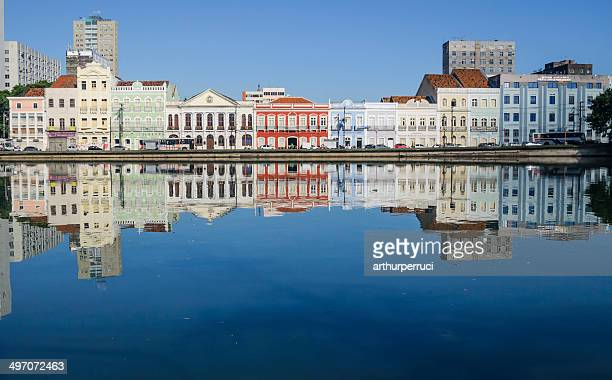view of aurora street at morning - recife stock pictures, royalty-free photos & images