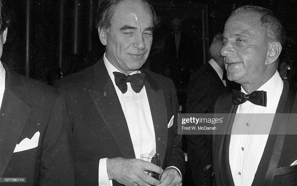 Murdoch & Cohn At Birthday Party : News Photo