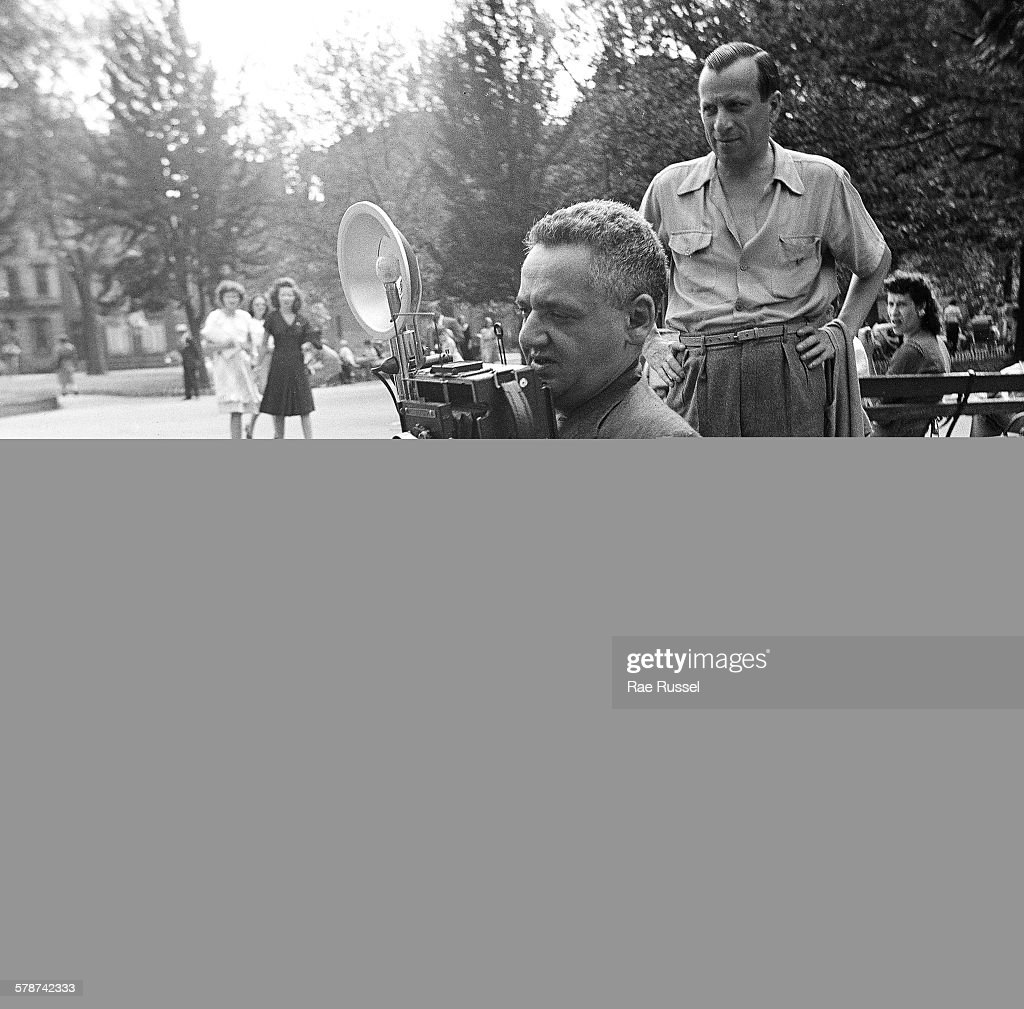 Weegee In Washington Square Park : News Photo