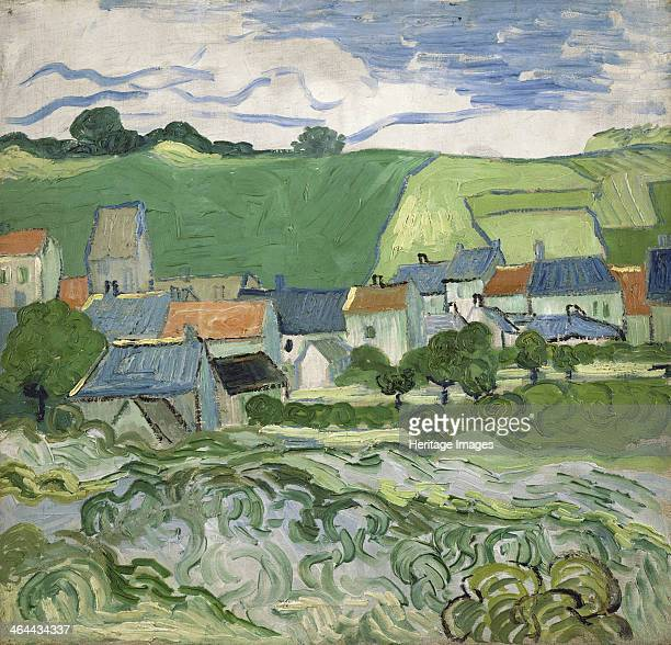 View of Auvers 1890 Found in the collection of the Van Gogh Museum Amsterdam