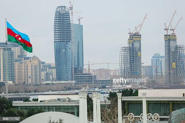 View of Baku downtown