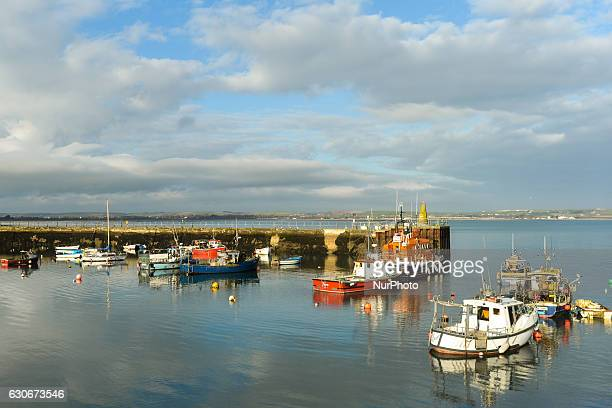 A view of Ballycotton harbour in County Cork Ireland situated about 25 miles east of Cork city On Thursday 29 December 2016 in Ballycotton Cork...