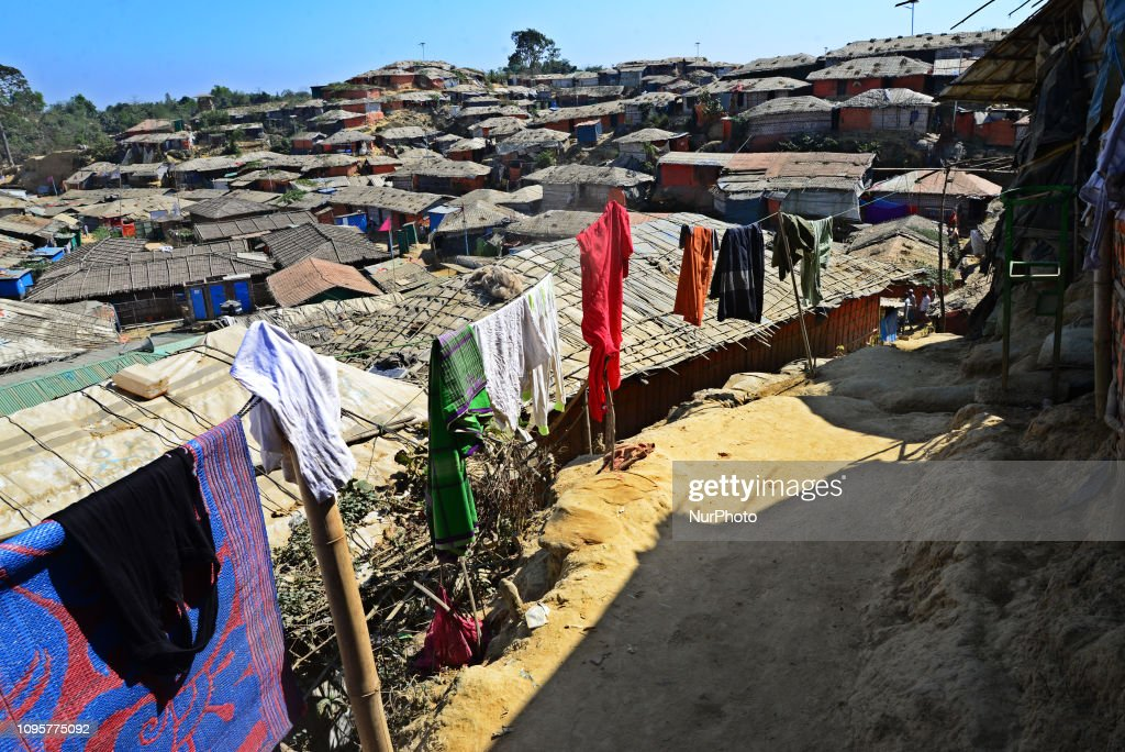 Daily Life In Cox's Bazar Refugee Camp : News Photo