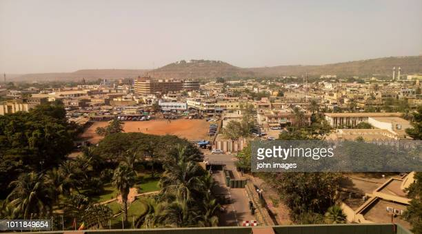 view of bamako - bamako stock pictures, royalty-free photos & images