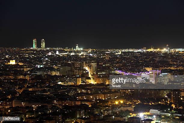 Vista de Barcelona por la noche