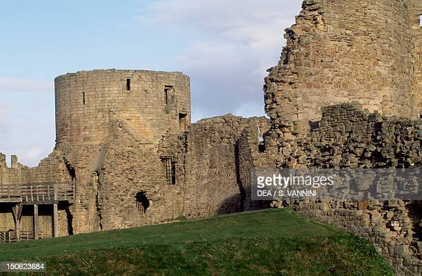 View of Barnard Castle near Barnard Castle County Durham England 12th century