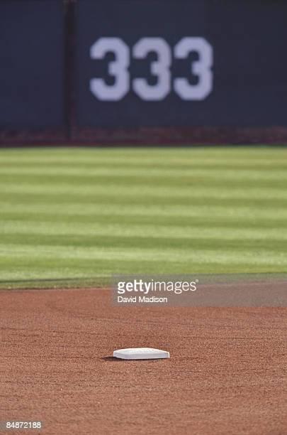 View of baseball field.