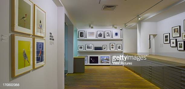 View of basement print room Photographers' Gallery Art Gallery Europe United Kingdom O'Donnell and Tuomey and ADP