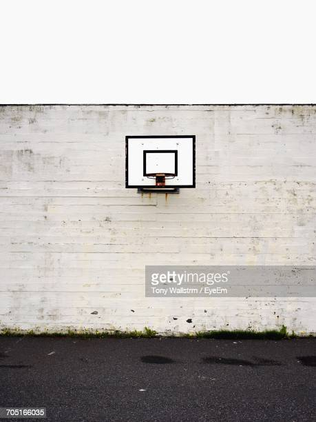 View Of Basketball Hoop