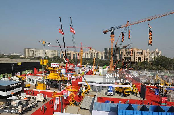 bauma conexpo india 2016 exhibition for construction equipments