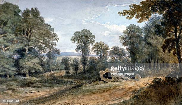 View of Bayswater Hill London 1803