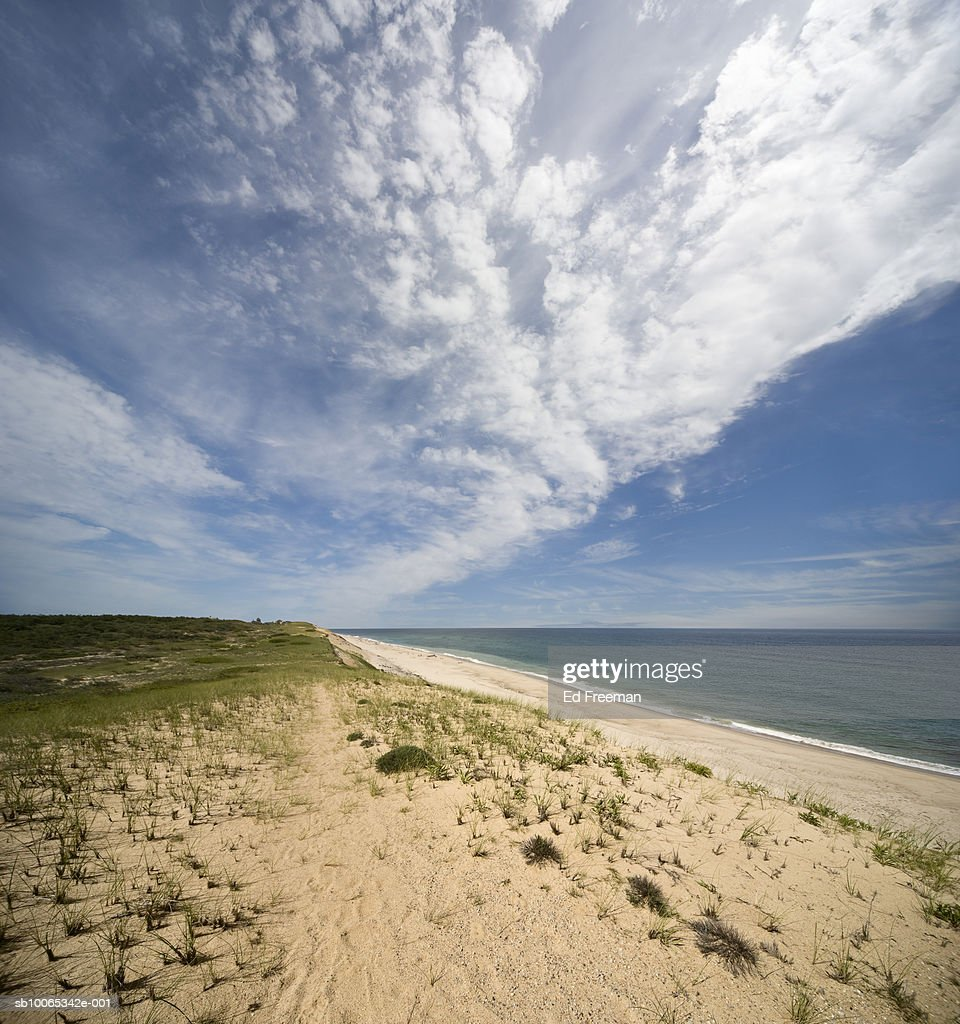 View of beach : Foto stock