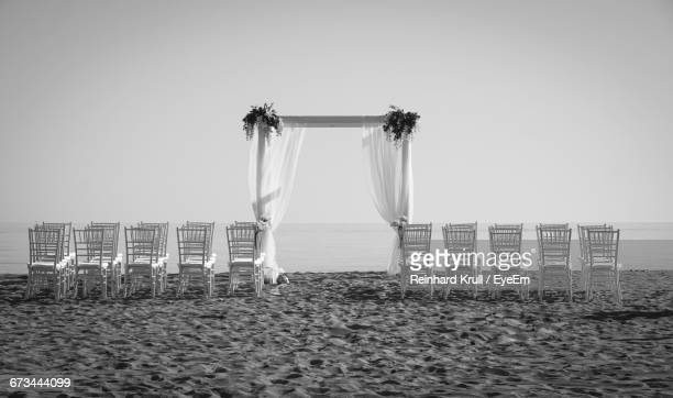 View Of Beach Wedding