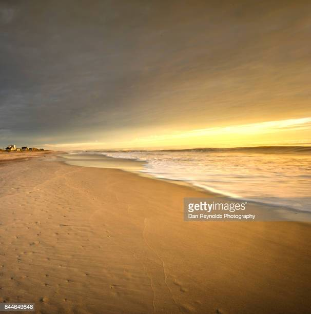View of Beach with morning sky