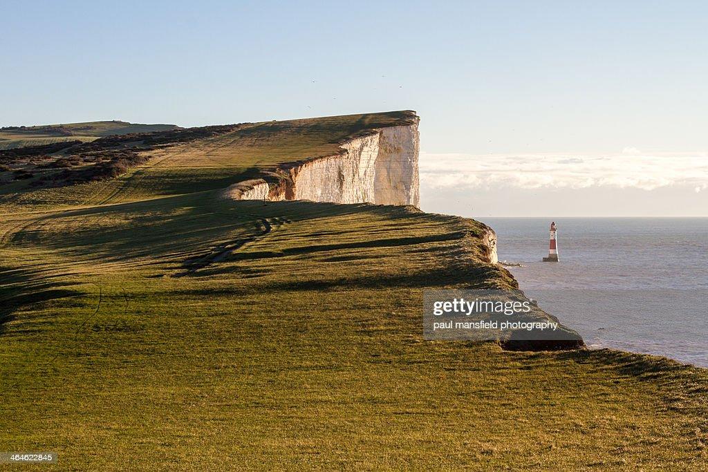 View of Beachy Head coastline : Stock Photo