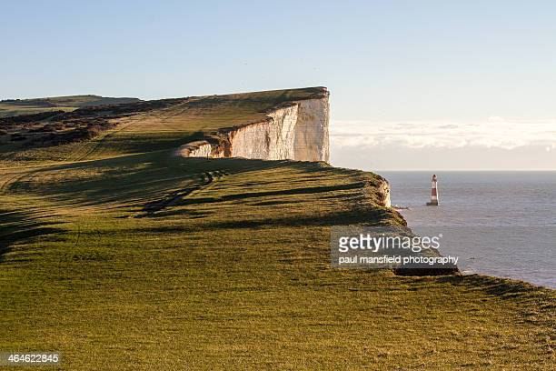 View of Beachy Head coastline